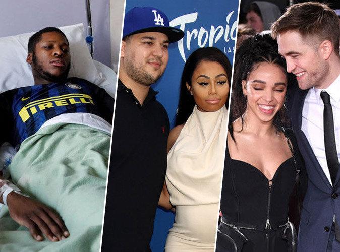 #TopNewsPublic : Théo est sorti de l'hôpital, clap de fin pour Rob Kardashian et Blac Chyna, Robert Pattinson plus amoureux que jamais de FKA Twigs