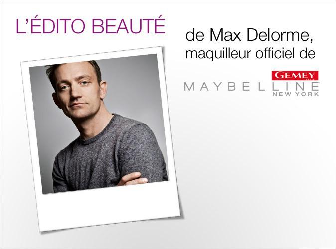 Public Glam Awards 2012 : l'édito beauté de Max Delorme, maquilleur officiel de Gemey-Maybelline