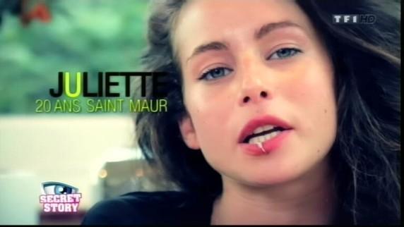 Souvez-vous la présentation de Juliette au début de Secret Story ...