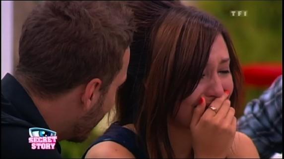 Elle a même pleurer pour lui !