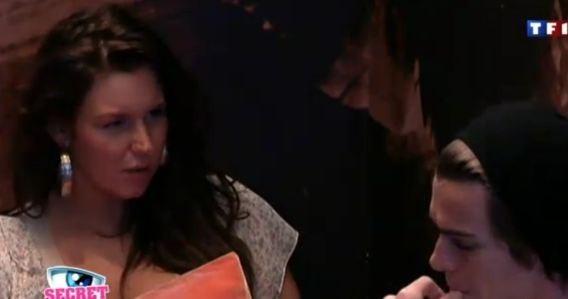Aurélie tente de raisonner Geoffrey...