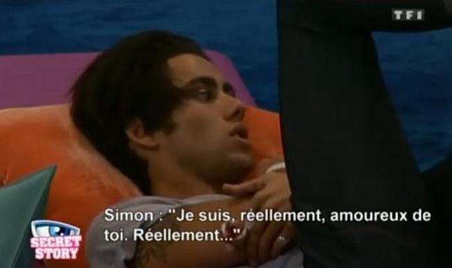 Simon fait sa déclaration à Juliette ...