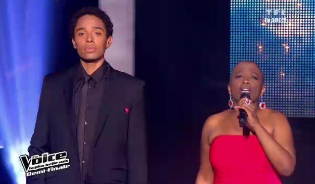 Dominique Magloire et Stéphan Rizon chantent en duo