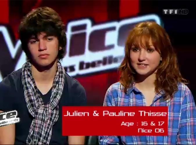 Pauline et Julien ont intégré l'équipe de Louis Bertignac !