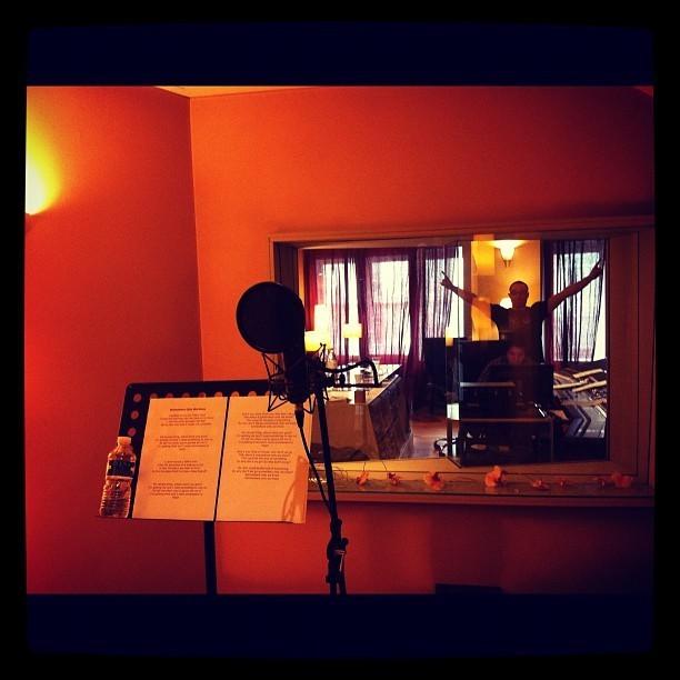 Aude en studio