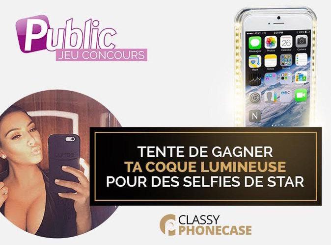 Jeu Concours : Tentez de gagner votre coque lumineuse pour des selfies de star !