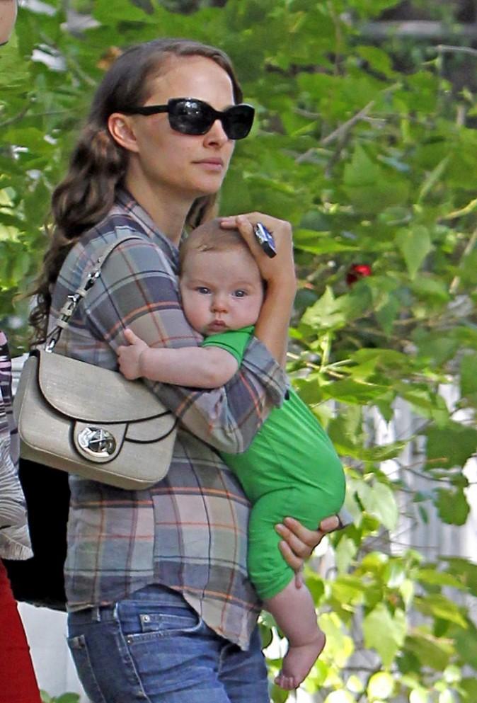 Natalie Portman et son petit Aleph