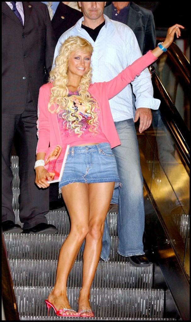 Paris Hilton, une vraie bimbo
