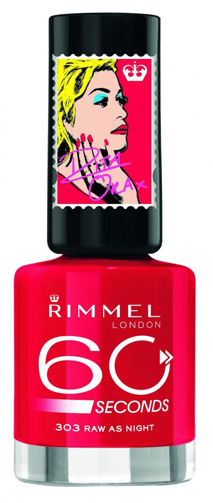 Vernis 60 Seconds, by Rita Ora, Rimmel (sortie mi-mai) 5,95 €