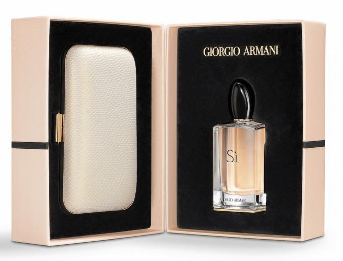 Coffret parfum 100 ml et minaudière, Giorgio Armani 127,70€