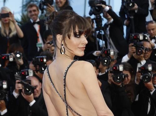 Milla Jovovich le 21 mai 2013