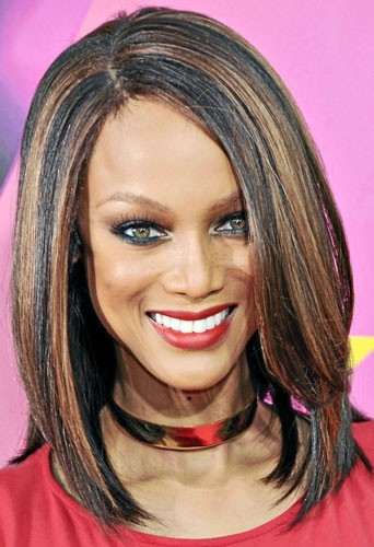 Astuce beauté : les lèvres de Tyra Banks