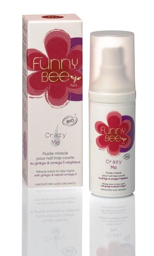 Fluide miracle pour nuit trop courte, Crazy Me, Funny Bee 38 €