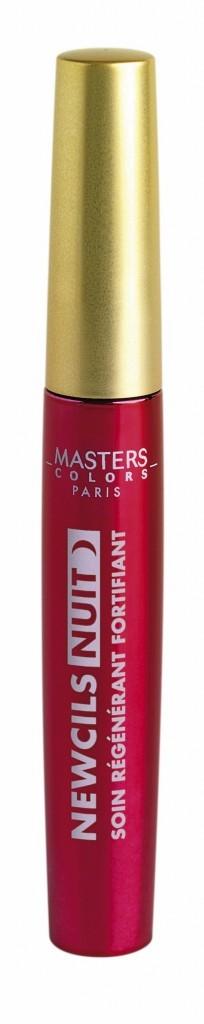 Le mascara de nuit fortifiant :  Le nouveau soin Masters Colors agit pendant la nuit pour des cils plus longs et plus épais. Mascara Soin Newcils N...