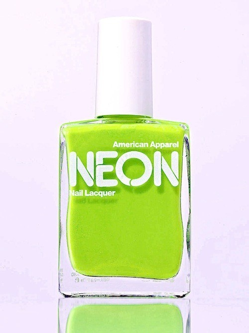 Vernis à ongles, Neon, American Apparel. 11 €