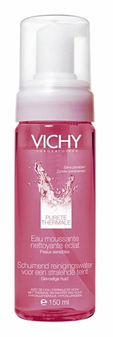 Eau moussante nettoyante éclat, Vichy, 12,20 €