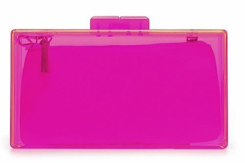 Boîte en méthacrylate rose, Zara 25,95 €