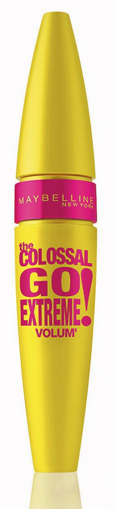Mascara Colossal Go Extreme, Gemey-Maybelline 12 €