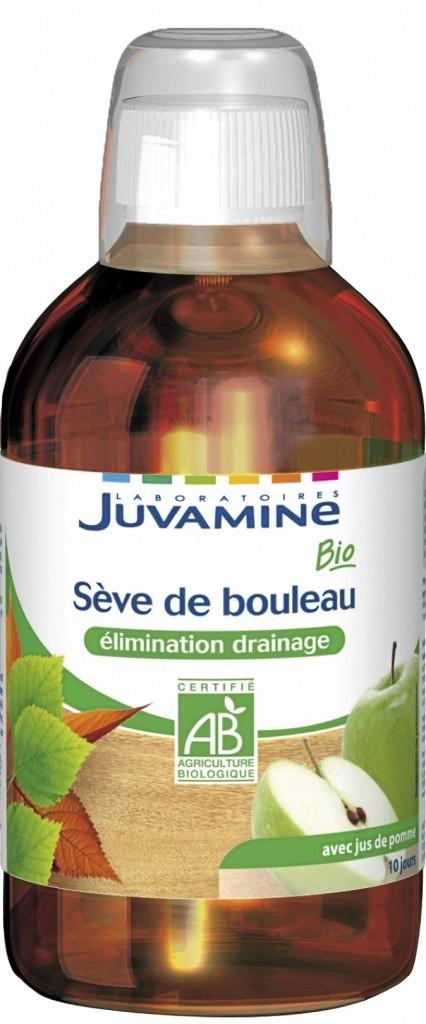 Sève de bouleau, goût pomme, Juvamine, 7,55€