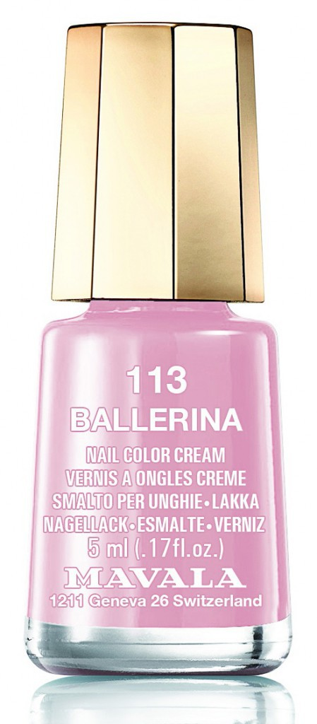 113, Ballerina Mavala 5,40 €