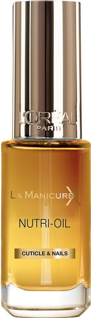 Nutri-Oil pour ongles et cuticules, La Manicure Xtreme, L'Oréal Paris 8,50 €