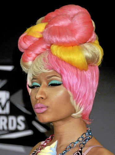 Les lèvres colorées de Nicki Minaj