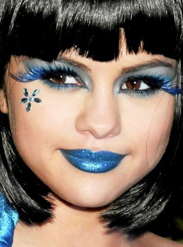 Les lèvres colorées de Selena Gomez