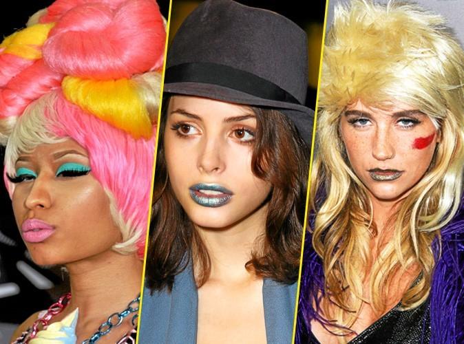 Les lèvres colorées des stars !