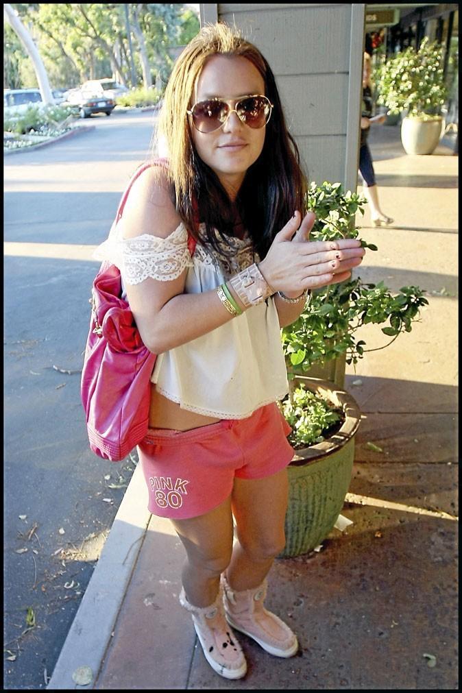 Perdue, Britney ne s'occupe plus de ses ongles!