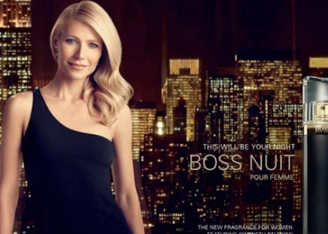 Gwyneth Paltrow pour Hugo Boss