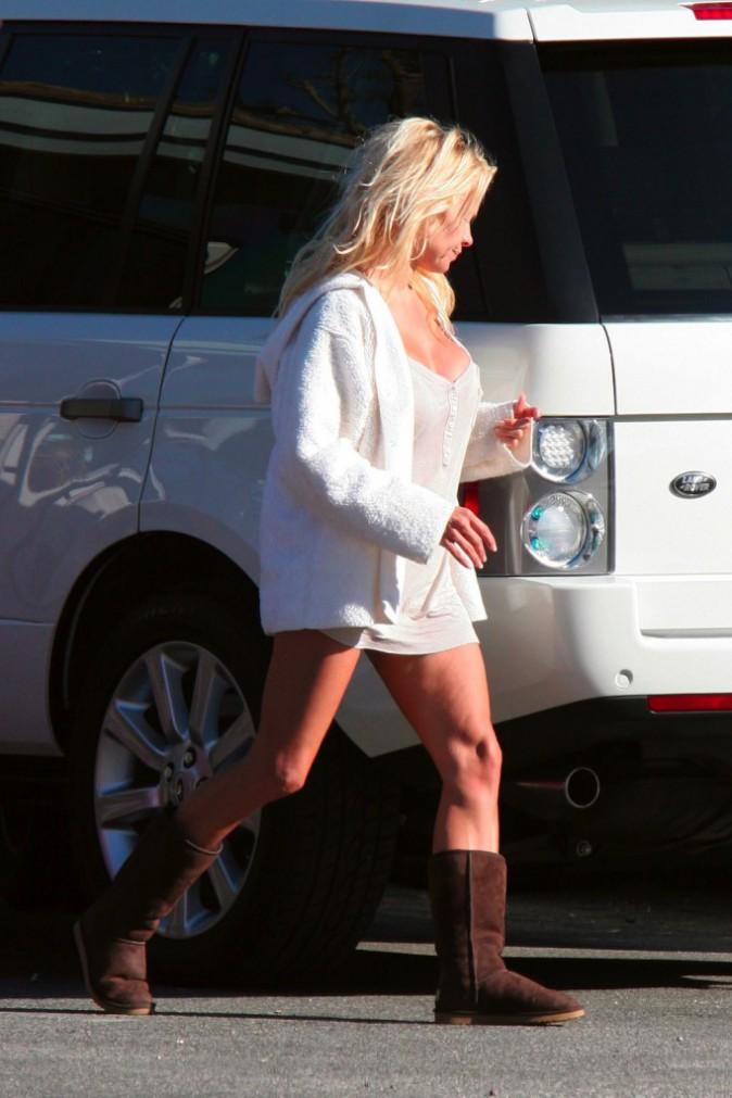 Les cuisses de Pamela Anderson