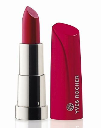 Rouge crème hydratant haute concentration, Framboise, Yves Rocher. 15,50 €.