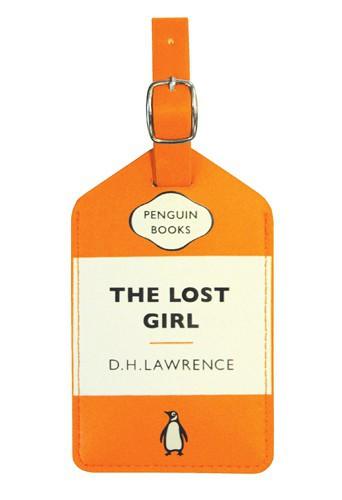 Étiquette de voyage, The Lost Girl, Penguin Books, 11,51 €.