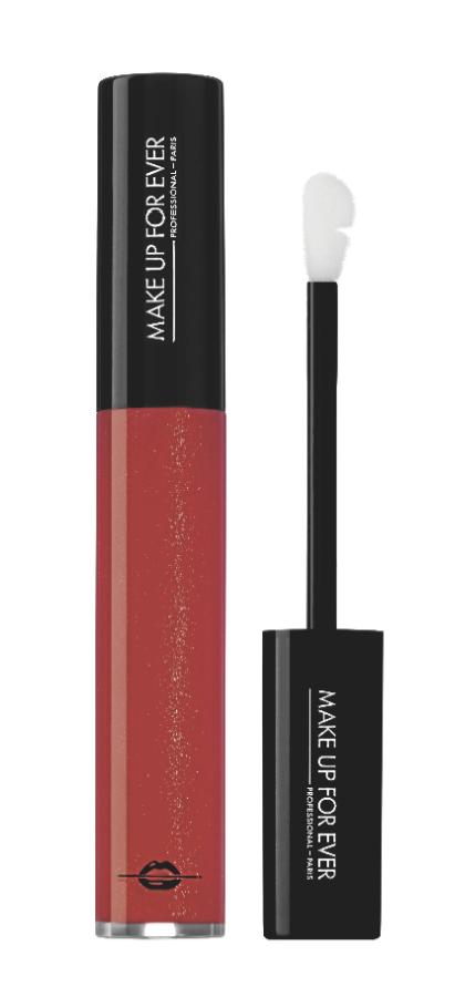 Les produits : Artist Plexi-Gloss, Make Up For Ever 19,50€