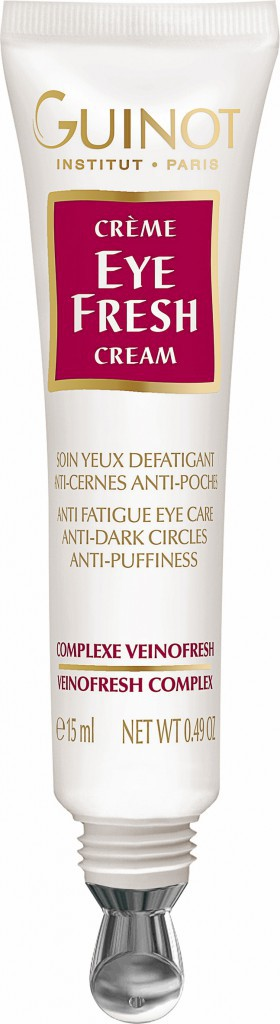 JE DEFROISSE : Soin défatiguant, Eye Fresh, Guinot 39 €