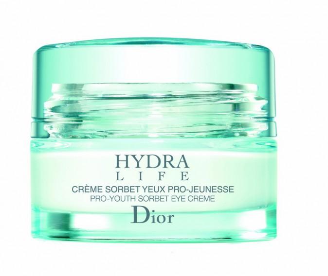 REPULSE : Crème sorbet yeux pro-jeunesse, Hydra Life, Dior 45 €