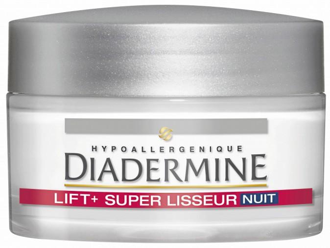 Un visage rajeuni : Soin de nuit Lift+ super lisseur, Diadermine 12,50 €