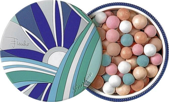 Poudre Météorites, Perles d'Azur. Collection Pucci pour Guerlain 48€