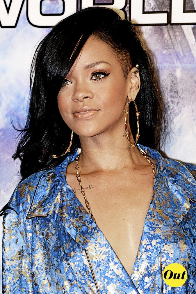 La coupe undercut de Rihanna !