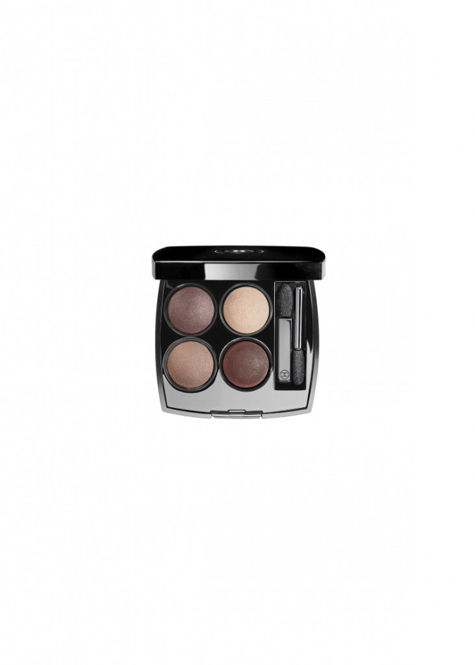 2. Palette d'ombres à paupières Les 4 Ombres, Chanel. 47,50 €.