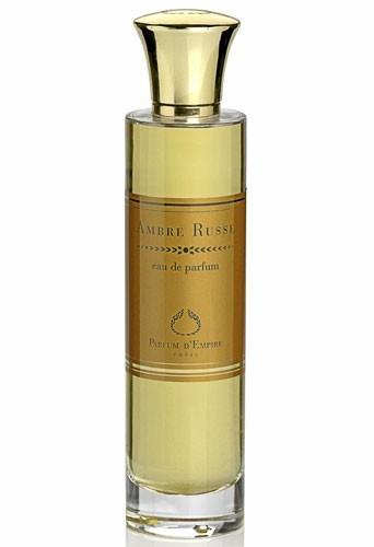 Eau de parfum Ambre Russe, Parfum d'Empire, 50 ml. 66 €.