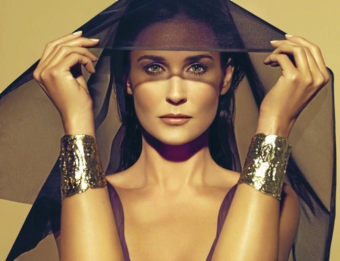 Demi Moore pour Helena Rubinstein
