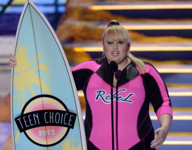 Rebel Wilson aux Teen Choice Awards 2013 !