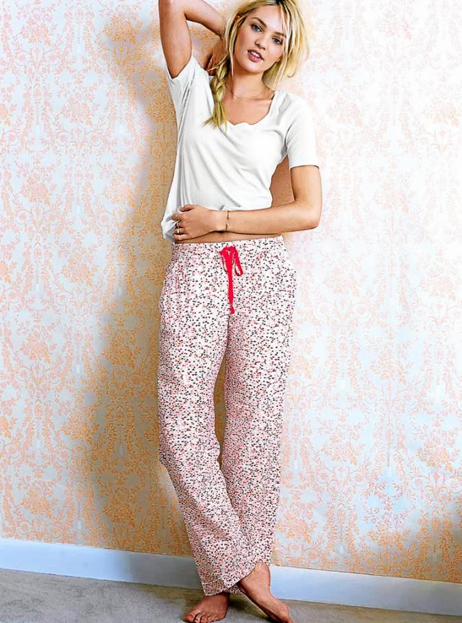 Candice Swanepoel : campagne Victoria's Secret, hiver 2014.
