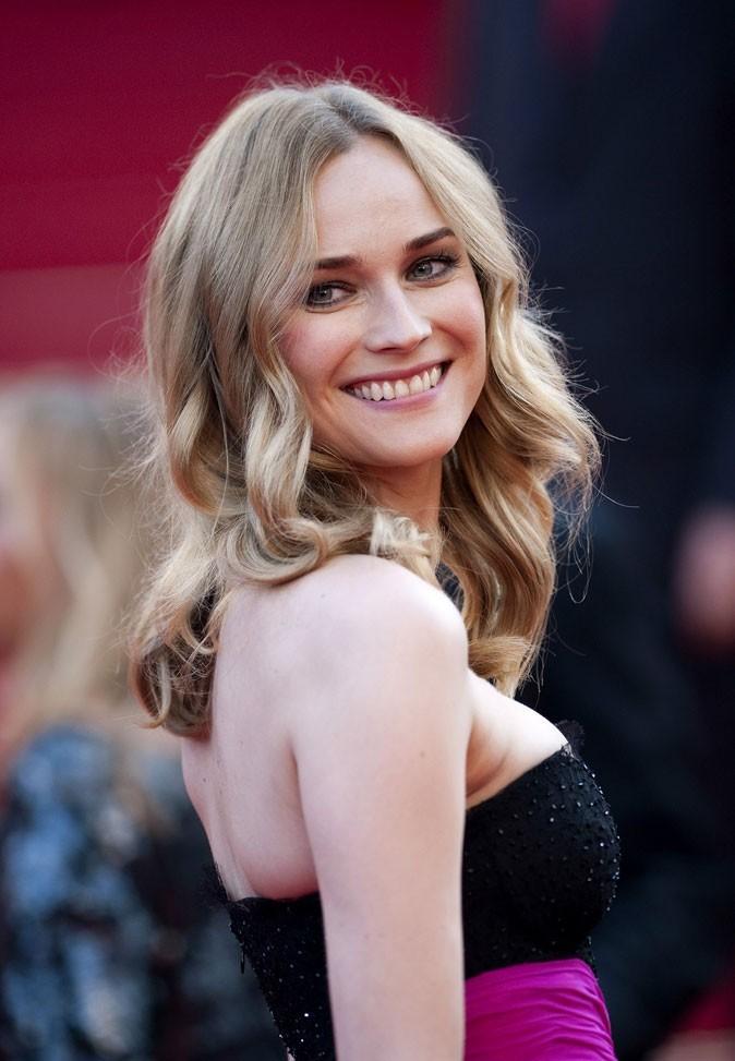 Festival de Cannes 2011 : la coiffure boucles wavy de Diane Kruger en 2010 !