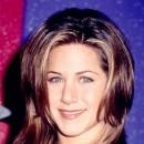 Jennifer Aniston : ses cheveux avec un carré dégradé en septembre 1996