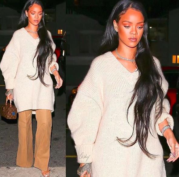 Cheveux : Tendance : La crinière interminable : Rihanna