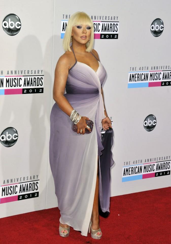 Christina Aguilera est enfin contente d'avoir des fesses... et elle en a !