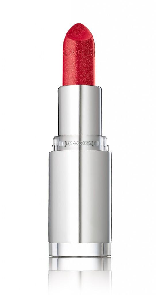 Pour un teint Choc : Joli Rouge Brillant, Cherry, Clarins 21,50 €