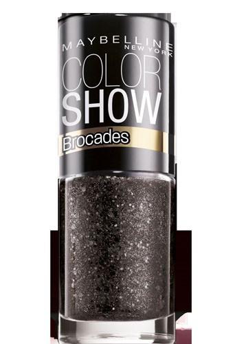 Coup de coeur : Vernis à ongles noir, Collection Brocades, Color Show, Gemey-Maybelline, 3,80 €
